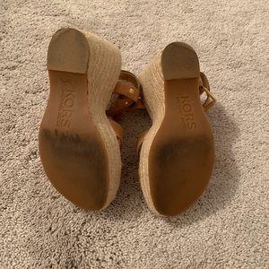 MICHAEL Michael Kors Shoes - Michael Kors lightly worn wedge sandals 7.5
